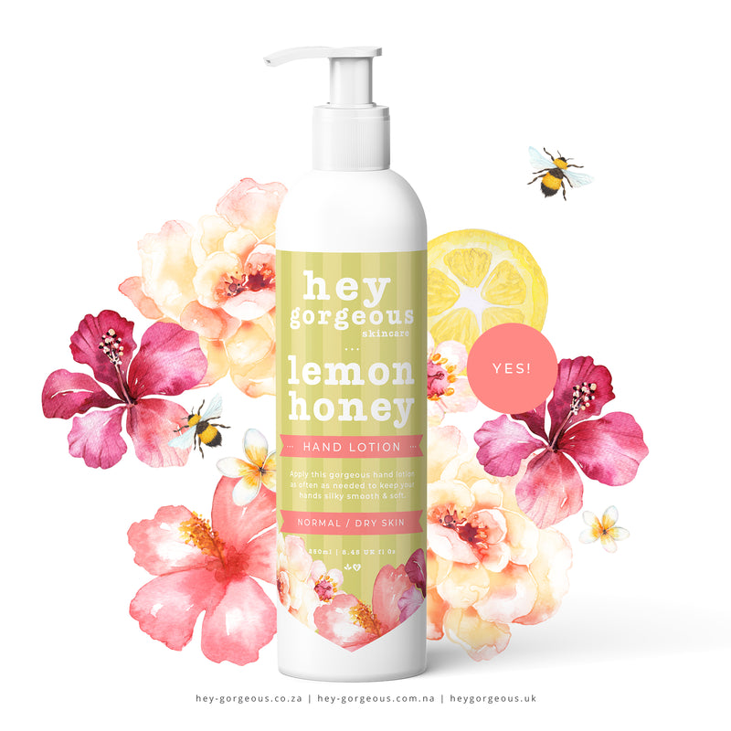 Lemon Honey Hand Lotion