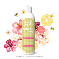 Lemon Honey Steamy Creamy Body Wash