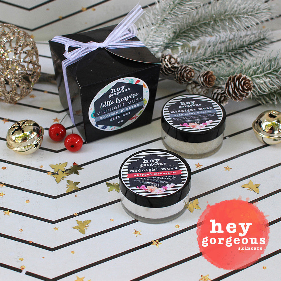 Little Treasure Midnight Musk Mousse & Scrub Gift Set