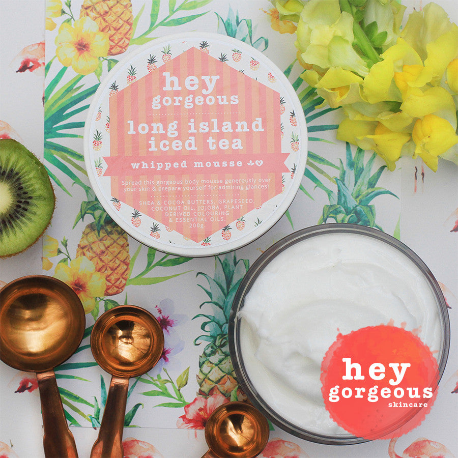 Long Island Iced Tea Whipped Mousse - Hey Gorgeous
