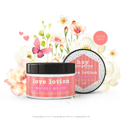 Love Lotion Whipped Mousse