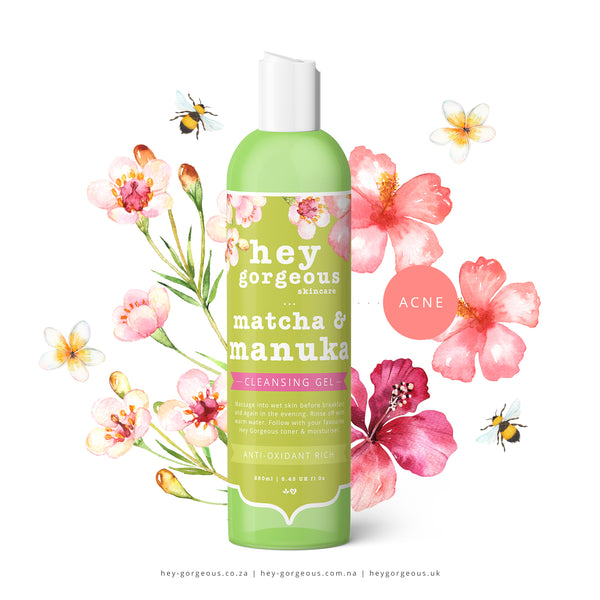 Matcha & Manuka Facial Cleansing Gel