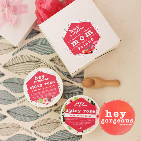 Mother's Day Mousse & Scrub Gift Set