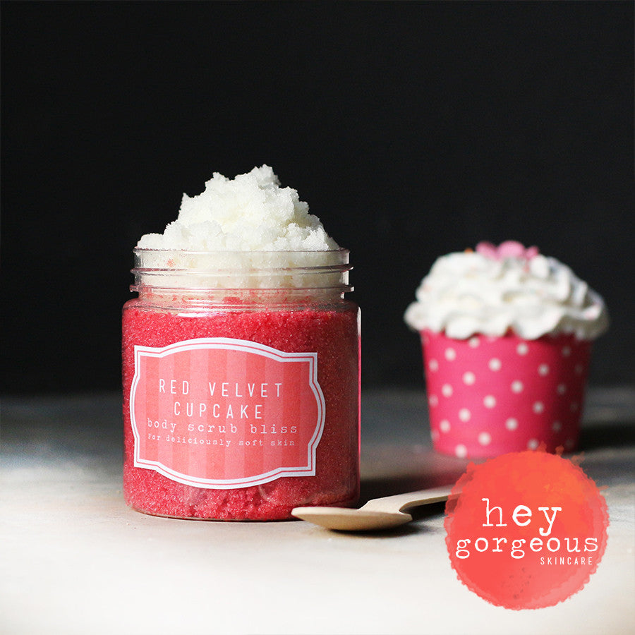 Red Velvet Cupcake Gift Set - Hey Gorgeous