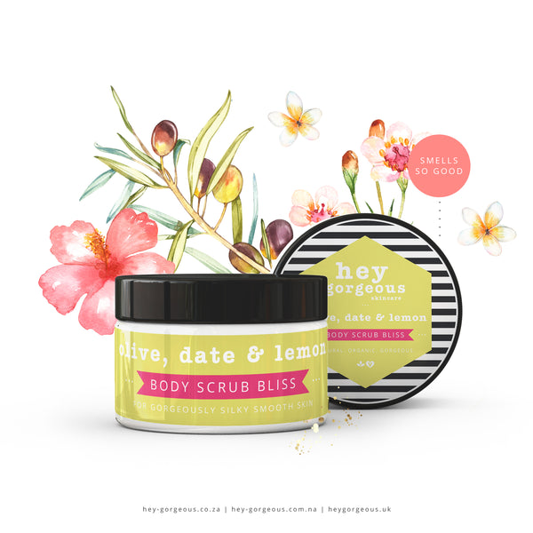 Olive, Date & Lemon Body Scrub Bliss