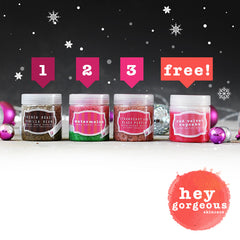 One Two Three Body Scrub Gift Set (SAVE R120) - Hey Gorgeous