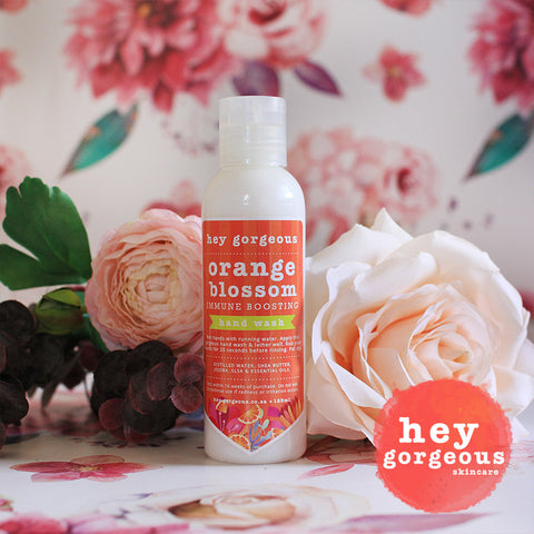 125ml Orange Blossom Immune Boosting Hand Wash