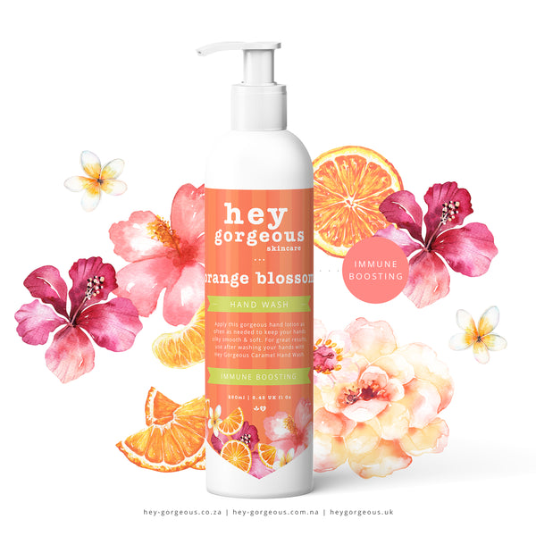 Orange Blossom Immune Boosting Hand Wash