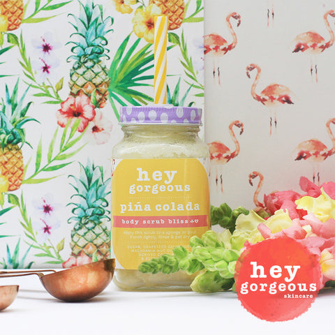 Piña Colada Body Scrub Bliss