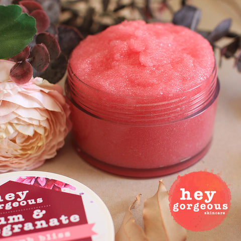 Plum & Pomegranate Hand Scrub Bliss