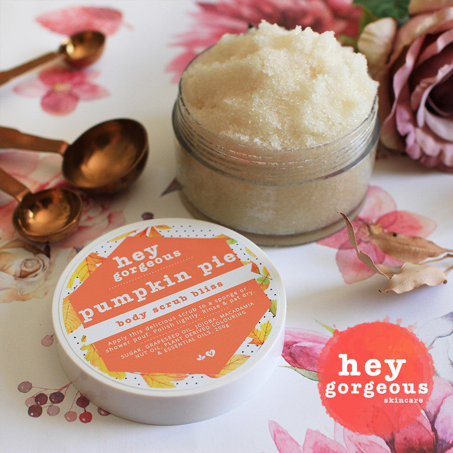 Pumpkin Pie Body Scrub Bliss - Hey Gorgeous