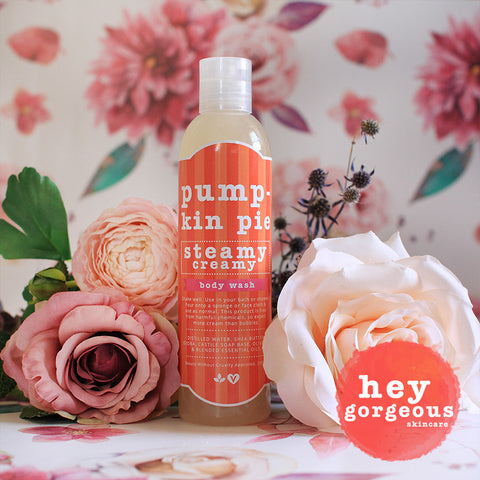 Pumpkin Pie Steamy Creamy Body Wash