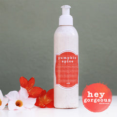 Pumpkin Spice Enzyme Cleansing Polish - Hey Gorgeous