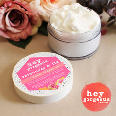 Raspberry & Fig Hand & Body Mousse - Hey Gorgeous