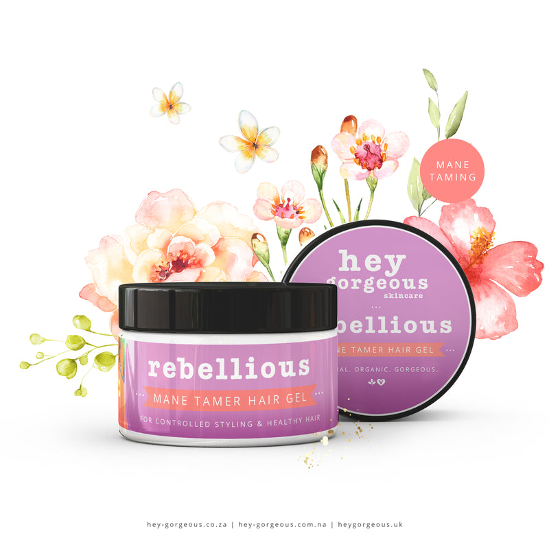 Rebellious Mane Taming Alcohol Free Hair Gel