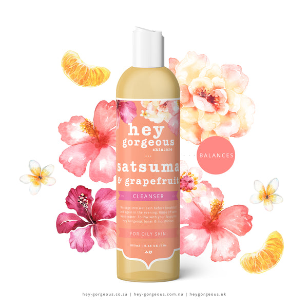 Satsuma & Grapefruit Cleansing Gel
