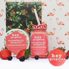 Strawberry Daiquiri Body Scrub Bliss - Hey Gorgeous