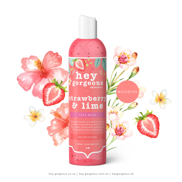 Strawberry & Lime Face Wash