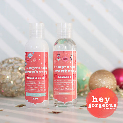 Sumptuous Strawberry Shampoo & Conditioner