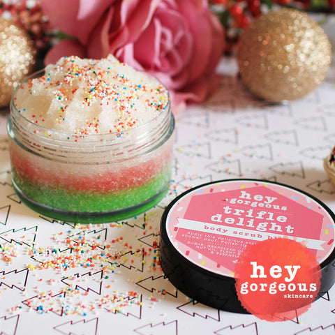 The Sweetest Trifle Delight Body Scrub Bliss