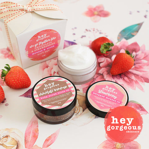 We Go Together Like Chocolate & Strawberries Gift Set