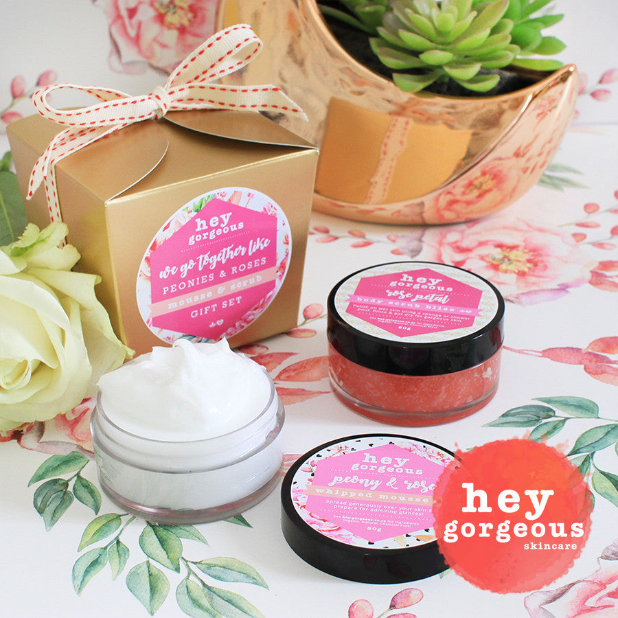 We Go Together Like Peonies & Roses Gift Set | Hey Gorgeous