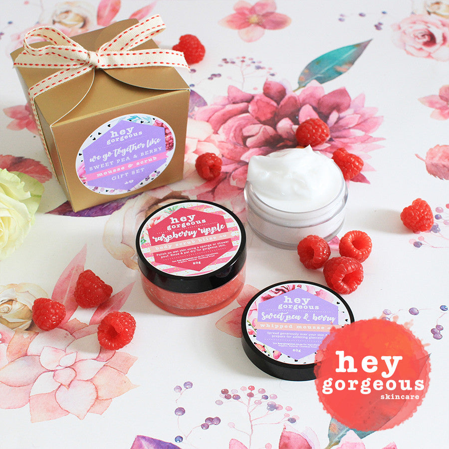 We Go Together Like Sweet Pea & Berry Gift Set | Hey Gorgeous