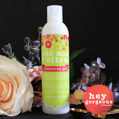 Wild Mint & Citrus Cleansing Gel - Hey Gorgeous