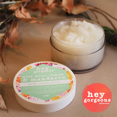 Wild Mint, Lemon & Mandarin Body Scrub Bliss - Hey Gorgeous