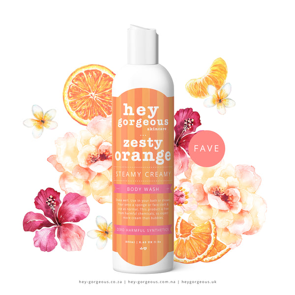 Zesty Orange Steamy Creamy Body Wash