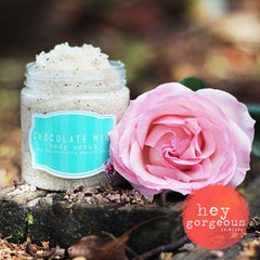 Chocolate Mint Body Scrub Bliss - Hey Gorgeous