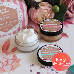 Mother's Day Cookies & Cream Pamper Duo Gift Set - Hey Gorgeous