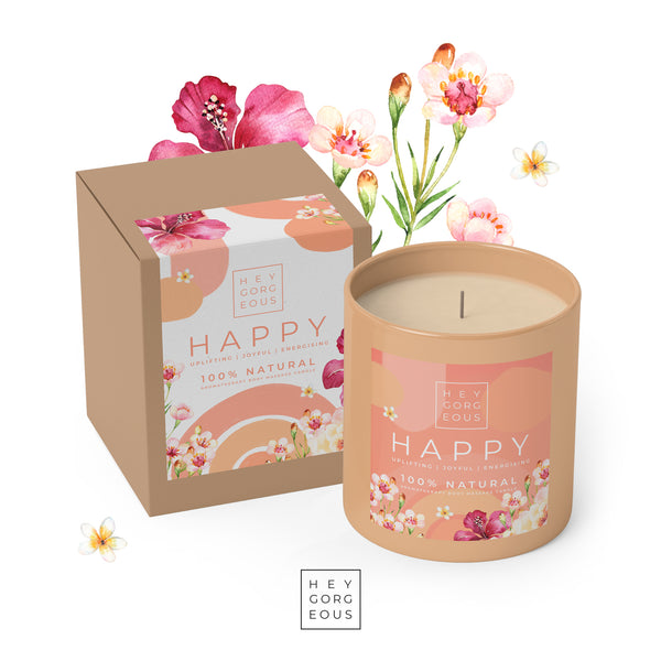 Happy Massage Candle