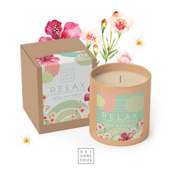 Relax Massage Candle