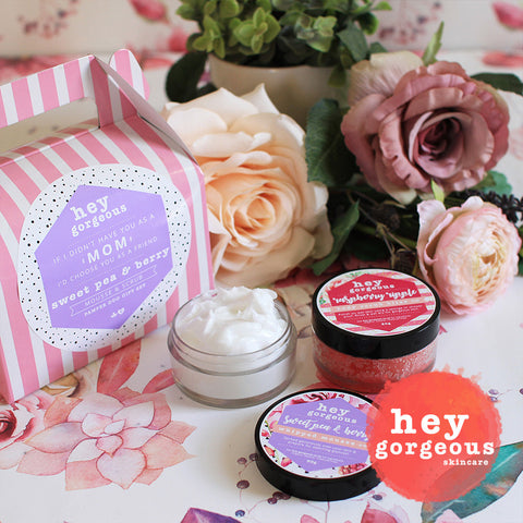 Mother's Day Sweet Pea & Berry Pamper Duo Gift Set