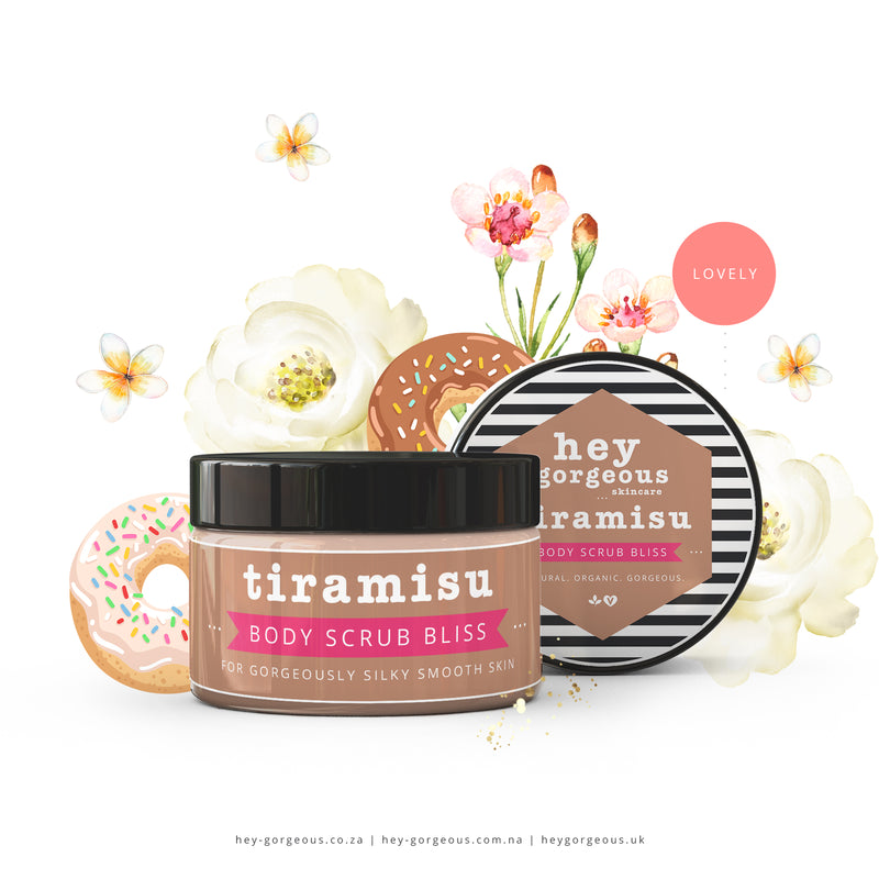 Tiramisu Body Scrub Bliss