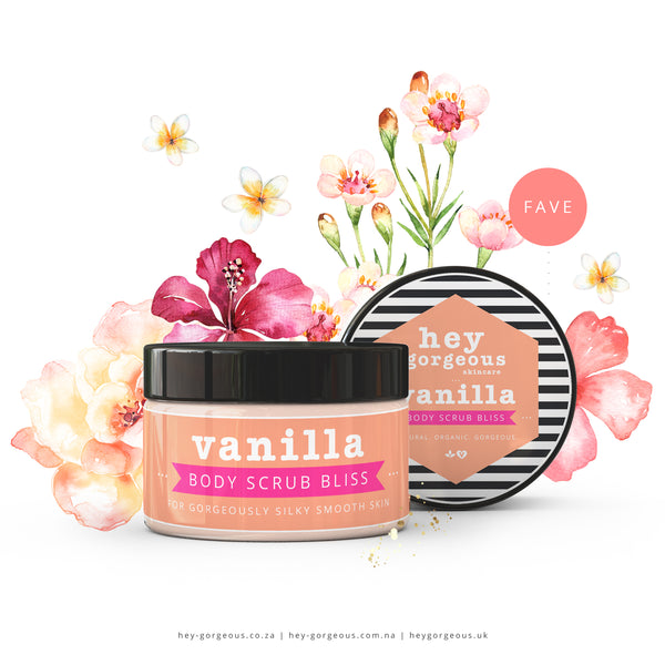 Vanilla Body Scrub Bliss
