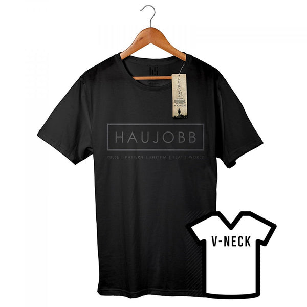 [S] [2XL] Logo 2011 (Erstauflage) Men's V-Neck T-Shirt Haujobb