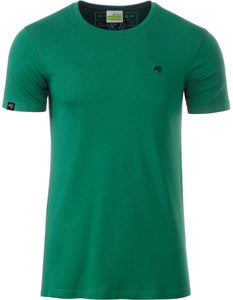 Bio-Baumwolle T-Shirt COMPANIEER Organic Cotton Green Grün Irish