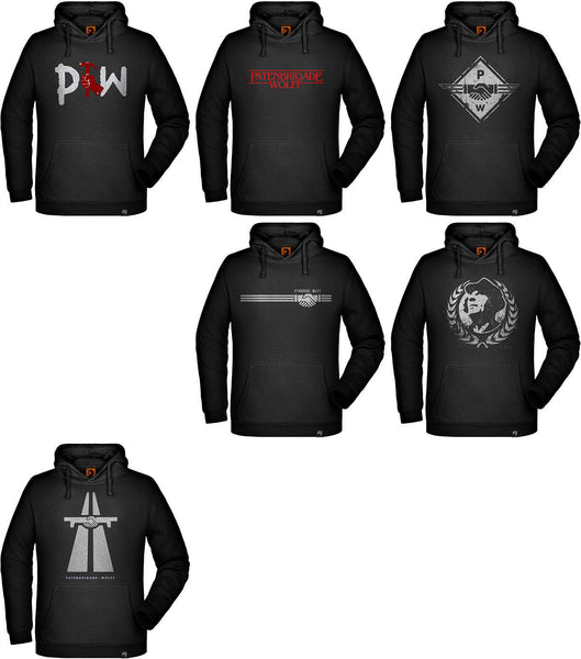 Men's Hoodie Designs Vol. 1 - Patenbrigade: Wolff