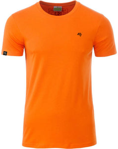 Bio-Baumwolle T-Shirt COMPANIEER Organic Cotton Orange