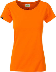 Organic Cotton Tshirt - COMPANIEER Bio-Baumwolle Orange