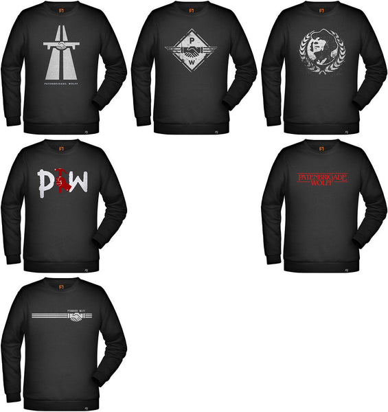 Men's Sweatshirt Designs Vol. 1 - Patenbrigade: Wolff