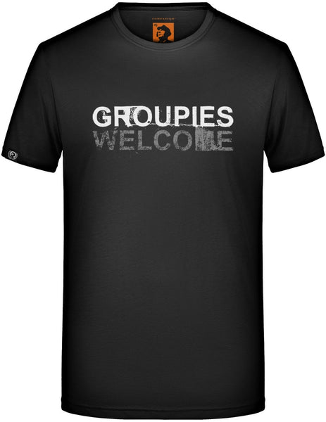 % Sale [M] Groupies Welcome Men's T-Shirt