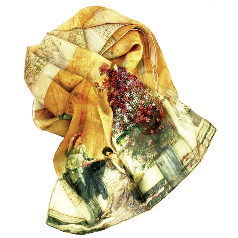 Unconscious Rivals Silk Scarf