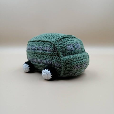M Shed Knitted Green Bus