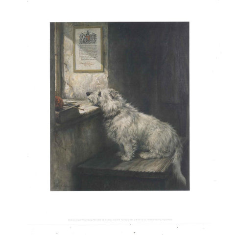 Will He Come Back by Robert Morley Print