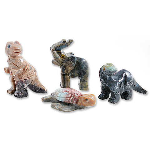 Mini Soapstone Animal