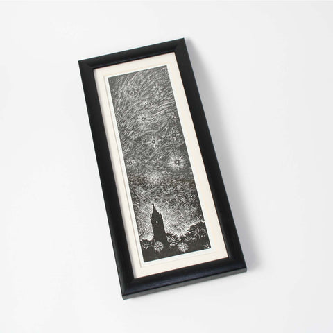 Starry Night Small Print Framed by Trevor Haddrell