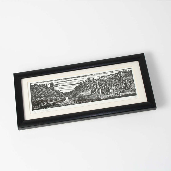 Suspension Bridge Small Print Framed by Trevor Haddrell